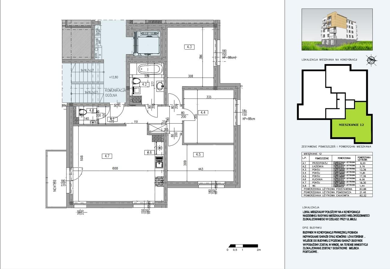 Budynek A  mieszkanie nr 9