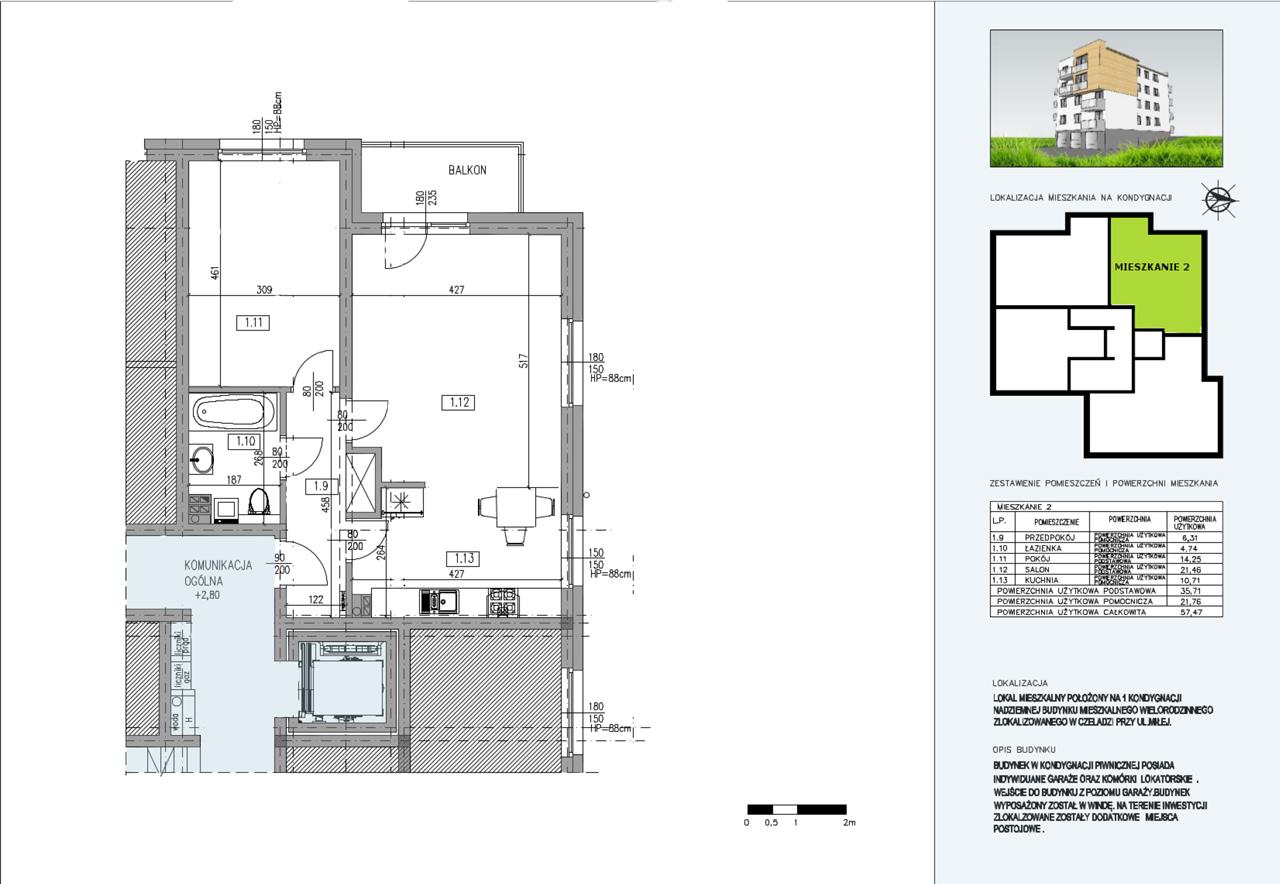 Budynek A  mieszkanie nr 6