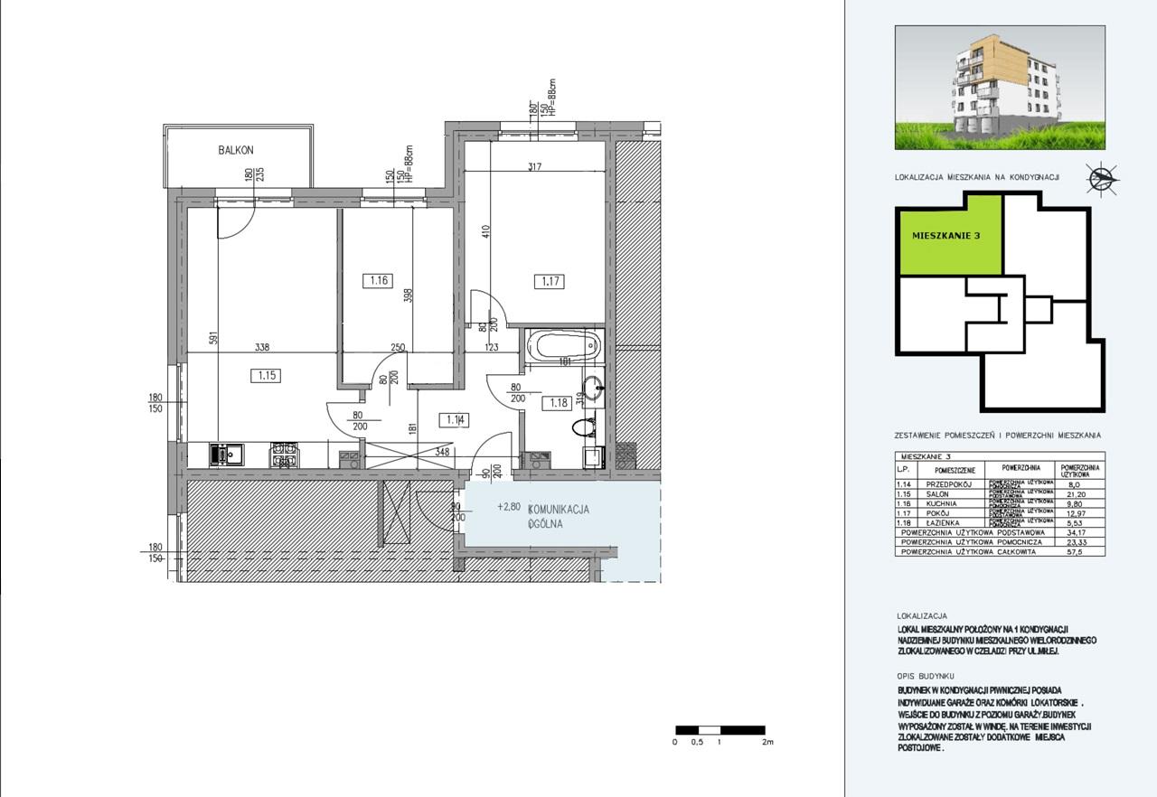 Budynek A  mieszkanie nr 7