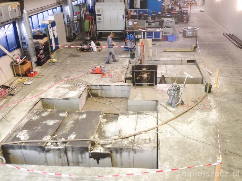 Fundamenty specjalistyczne pod linie produkcyjne i maszyny