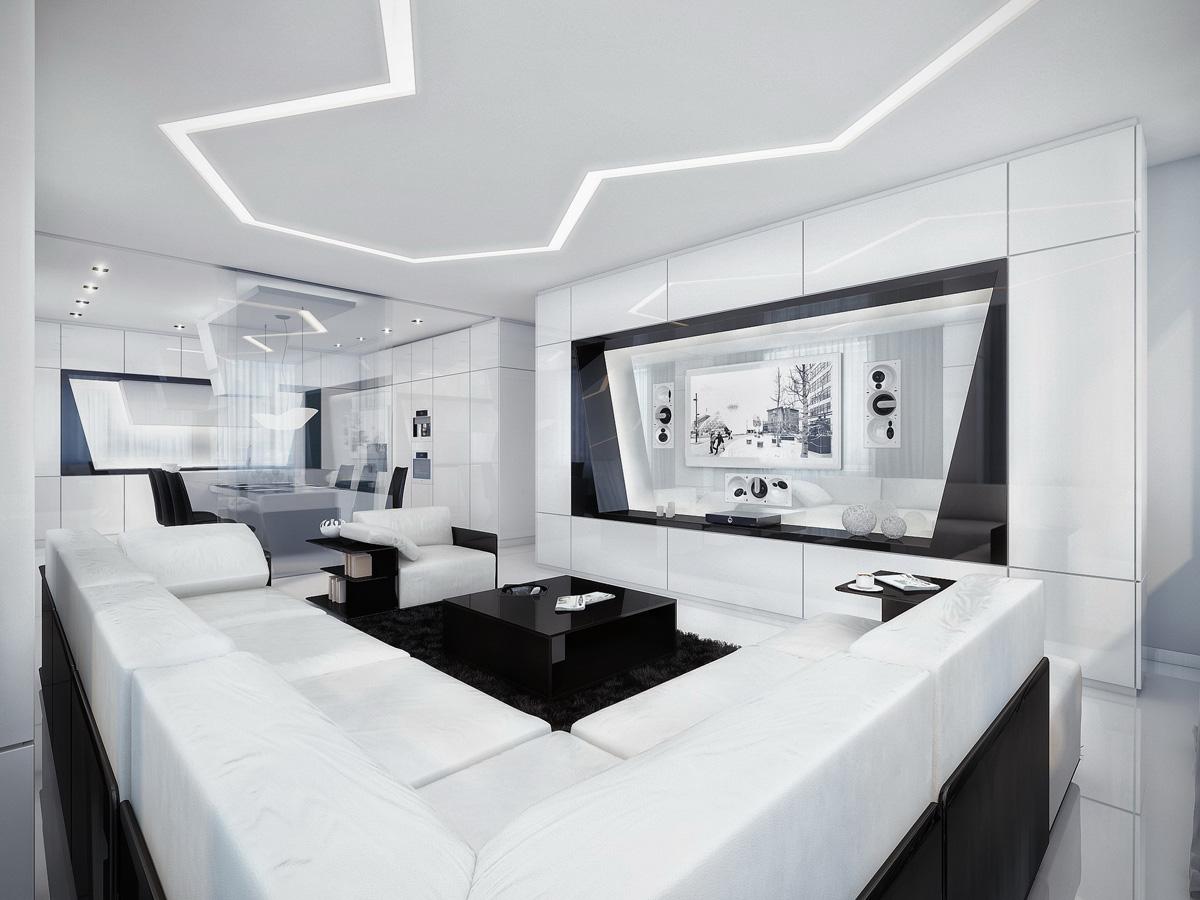 nowoczesny salon willa rezydencja