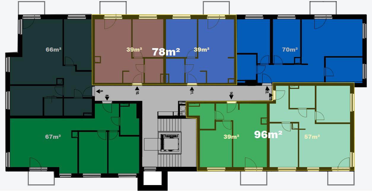 zmiana powierzchni mieszkań