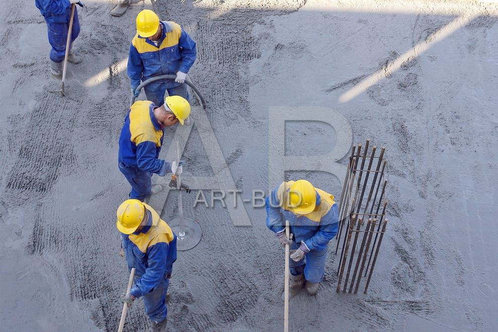 betonowanie stropu żelbetowego usługi
