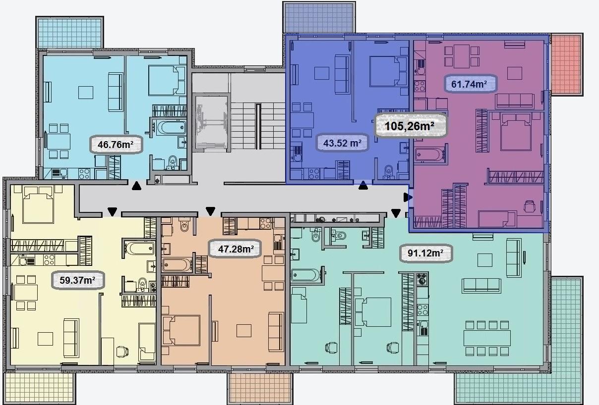 łączenie apartamentów żywiec